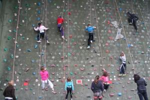 Klettern Paul-Horn-Arena